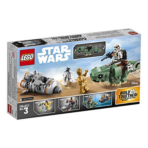 شراء LEGO Star Wars: A New Hope Escape Pod vs. Dewback Microfighters 75228 Building Kit , New 2019 (177 Pieces)