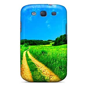 Shock-dirt Proof The Road To The Fields Case Cover For Galaxy S3