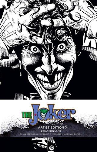 DC Comics: The Joker Hardcover Ruled Journal: Artist Edition: Brian Bolland (Joker Dc Comics)