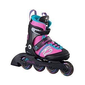 K2 Kinder Inline Skate Marlee Pro, rosa/blau/schwarz, M, 30A0219.1.1.M