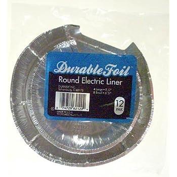 Amazon Com Disposable Foil Burner Liners Electric