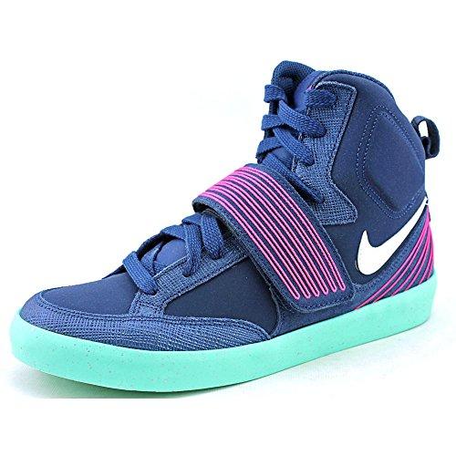 Nike Men's NSW Skystepper Brave Blue/Pink Fl/Grn Glw/Slvr Casual Shoe
