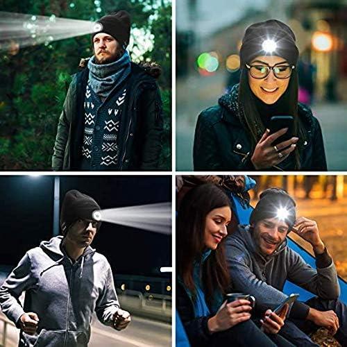 Faro per Bici Luce Frontale per Bicicletta Ricaricabile a 4 modalit/à Smart USB alimentata a energia Solare con Campana per Bici per Ciclismo Guida di Sicurezza Altoparlante a LED-004
