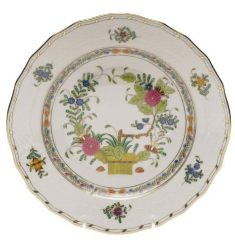 Herend Baskets - Herend Indian Basket Dinner Plate by Herend