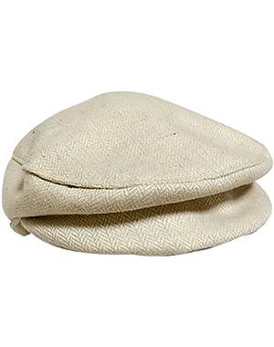 1PC Beige Baby Kids Boy Girl Beret Cap Gentleman Dome Hat Baseball Cap