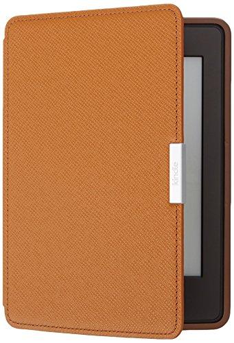 Amazon Kindle Paperwhite Lederhülle, Hellbraun - geeignet für alle Kindle Paperwhite-Generationen
