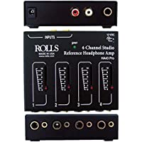 rolls HA43PRO 4 CH Headphone Amp