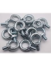 M6/M8/M10/M12/M14/M16/M20 Stainless Steel Eyebolt Lifting Bolts Ring Screw Loop Hole Bolt for Cable Rope Lifting - (Thread Specification: M20)