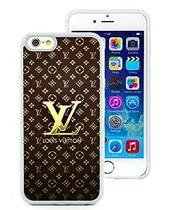 iPhone 6 4.7 inch Louis Vuitton 22 White TPU Phone Case Genuine and Handmade Design