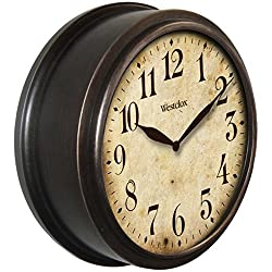 Westclox 32217B 10 Classic Wall Clock Round Deep Dish Home & Garden Improvement
