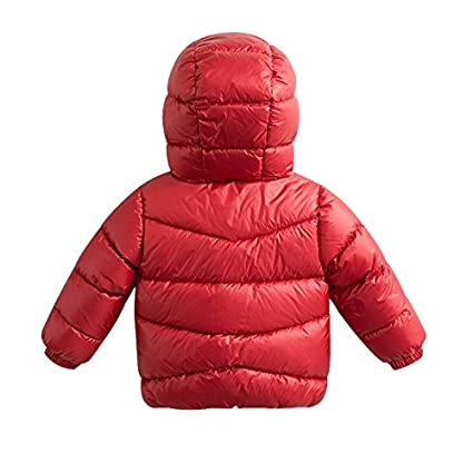 marc janie Little Boys Winter Thick Hooded Ultra Light Down Jacket
