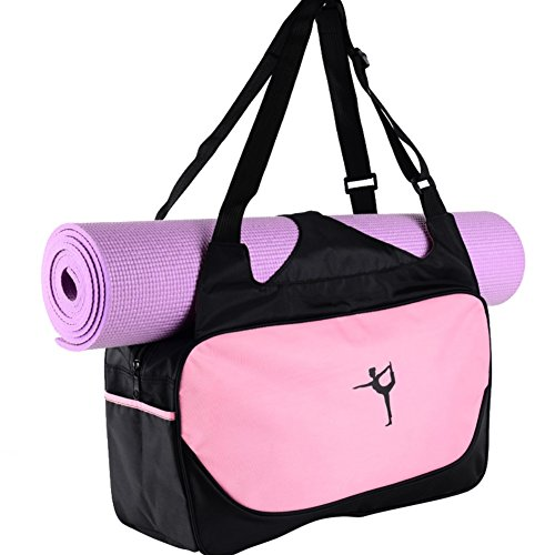 Balight COMPACT YOGA MAT BAG/Stylish, Yoga Mat Carrier Bag,Efficient & Lightweight/Perfect For Yogis