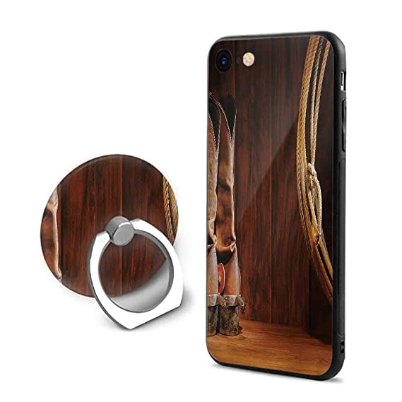 new products c13ce 9bb0e Amazon.com: Western iPhone 7/iPhone 8 Cases,American Style Cowboy ...