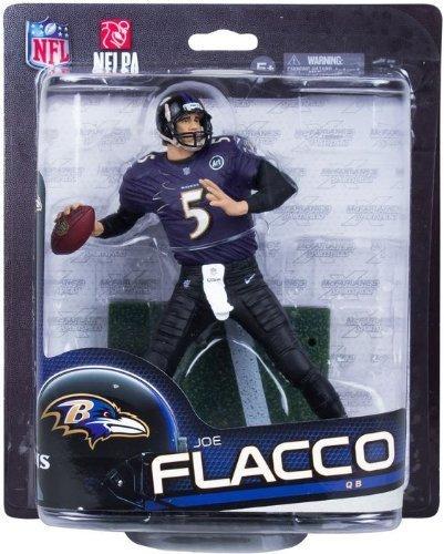 McFarlane NFL Series 33 JOE FLACCO 6 inch Figure BALTIMORE RAVENS