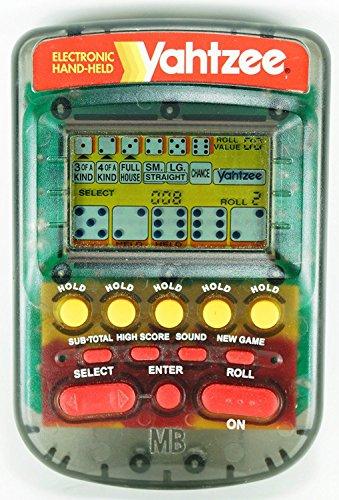 yahtzee electronic handheld 1995 - 5