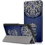 جراب لهاتف Lenovo TAB7 Tab 7 Essential TB-7304F 7304I 7304X 7 بوصة غطاء حماية ذكي من جلد البولي يوريثان