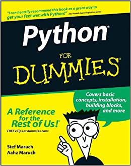 Python For Dummies Amazon Co Uk Stef Maruch 8601400640210 Books
