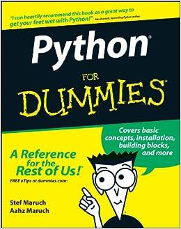 Python For Dummies: Amazon.es: Stef Maruch, Aahz Maruch: Libros en idiomas extranjeros