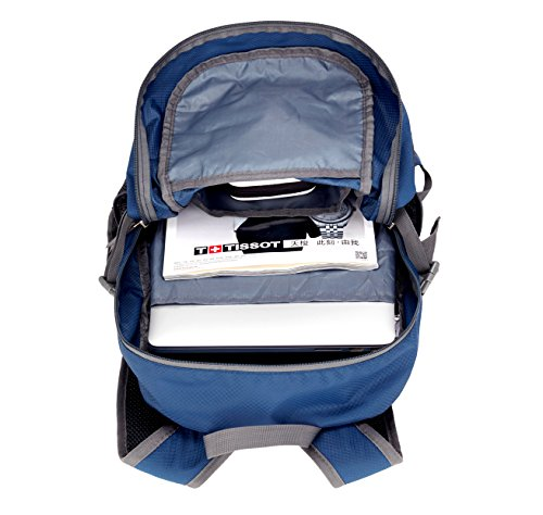 dc24a71b29 Venture Pal Lightweight Packable Durable Travel Hiking Backpack Daypack -NavyBlue