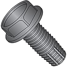 5//16-18 Thread Size Star Drive 3-1//2 Length Pan Head Steel Thread Cutting Screw Pack of 5 Zinc Plated Finish Type F