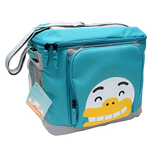 Kakao Friends - Ice Cooler Bag (TUBE) for Outdoor, Picnic, Parties, Camping, Boating, Lunch Box Package by Kakao Friends