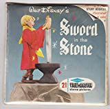 View Master Walt Disney's Sword in The Stone Set of 3 Vintage 1960s Reels New Sealed Packet #B-316 Viewmaster