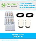 Oreck XL 1 Year Supply Kit; Includes 8 CC Bags, 2 XL Belts & 10...