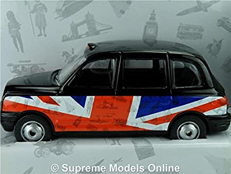 20f755a556 LONDON TAXI MODEL CAR BEST OF BRITISH 1 36 SIZE CORGI GS85909 UNION FLAG  T34Z  Amazon.co.uk  Toys   Games