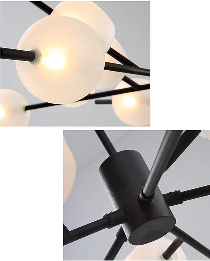 Amazon.com: CSDM.AI 15 lámparas de araña de Sputnik ...
