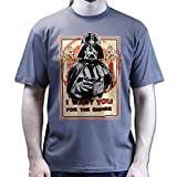 Darth Vader I Want YOU For The Empire T-shirt Charcoal Grey L