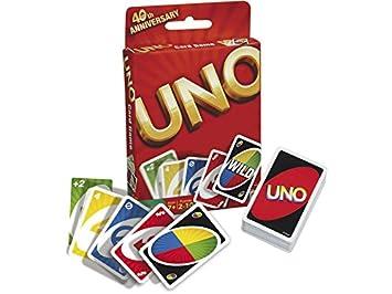 Mattel 52277 Cartas UNO Básico: Amazon.es: Juguetes y juegos