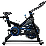 Cheap Merax Deluxe Indoor Cycling Bike Cycle Trainer Exercise Bicycle (Black w/Blue)