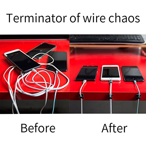 Cable Management, Little Adhesive Cable Clips for Lightweight Wire ...