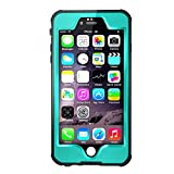 Waterpoof Case for iPhone 6 Plus /6S Plus,Merit Knight Series IP68 Certified Case Cover 5.5 Inch(Blue)