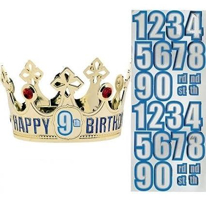 Amazon.com: Amscan – Majestic Fiesta de cumpleaños ...