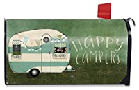 Happy Campers Summer Mailbox Cover RV Camping Standard Briarwood Lane