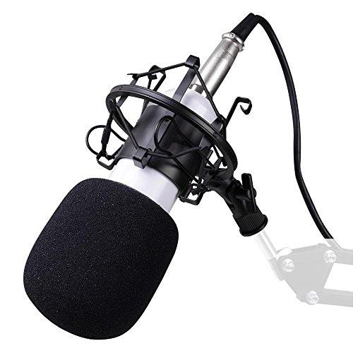 BM800 Condenser Microphone Shock Mount Home Studio Sound Aud