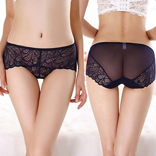 5a1586bcb9 JojoQueen Womens Lace Underwear