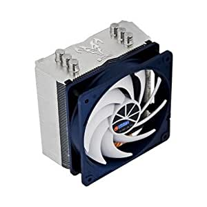 Titan TTC-NC15TZ/KU(RB) - Ventilador de PC (Enfriador, Procesador, Socket AM2, Socket AM3, Socket AM3, Socket H (LGA 1156), Socket B (LGA 1366), Socket T (LGA 775), Negro, Color blanco, 0,32A, 3,84W)