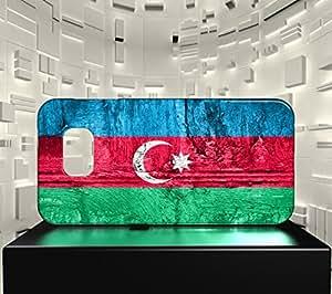 Funda Carcasa para Galaxy S6 Edge Bandera AZERBAIYÁN 07