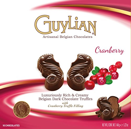 guylian-belgium-chocolates-16-piece-cranberry-seahorse-truffle-52-ounce-pack-of-12