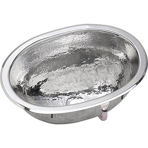 Elkay SCF1611SH Sink, Hammered Mirror Stainless Steel