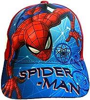 Marvel Official Kids Boys Girls Avengers Spiderman Baseball Caps Hats with Velcro Strap