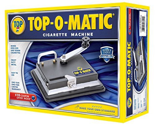 New Top-O-Matic Cigarette Rolling Machine by Lighter, used for sale  Delivered anywhere in USA