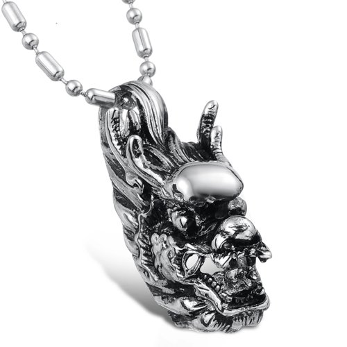 Dreamslink Jewellery Unicorn Attack Fashion Stainless Steel Charm Pendant Neckwear Chain GX561