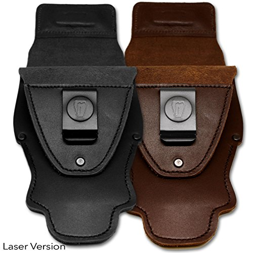 "Urban Carry G2 LASER VERSION (Brown, Captain). The G2 ""LASER"" version works with most rail lasers and trigger guard lasers in addition to a few select laser/light combos."