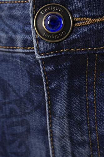 Denim Scuro 18wwdd05 Otaki Donna Blue Desigual Jeans EwfCqxAnp