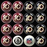 NFL Washington Redskins Billiards Ball Set