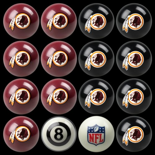NFL Washington Redskins Billiards Ball Set by Imperial