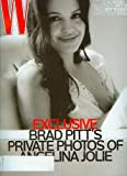 W Magazine November 2008 The Art Issue - Brad Pitt's Private Photos of Angelina Jolie
